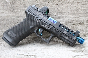 Blue Line customization package for your Gen 5 Glock 45
