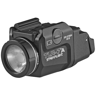 Streamlight, TLR-7A, Tactical Weapon Light, 500 Lumens, Black