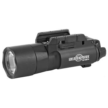Surefire, X300 Ultra, Weaponlight, White LED, 1000 Lumens, Fits Picatinny and Universal, For Pistols, Black Finish