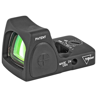 Trijicon, RMR, Type 2, Red Dot, Adjustable, Black matte, 3.25 MOA