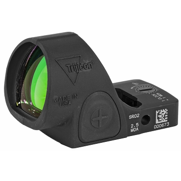 Trijicon, SRO (Specialzed Reflex Optic), 2.5 MOA, Adjustable LED, Matte Black Finish
