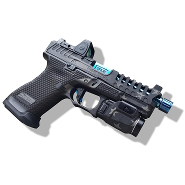 BLUE LINE CUSTOMIZATION PACKAGE FOR YOUR GEN 5 GLOCK 19