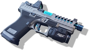 BLUE MAMBA CUSTOMIZATION PACKAGE FOR YOUR GEN 5 GLOCK 19