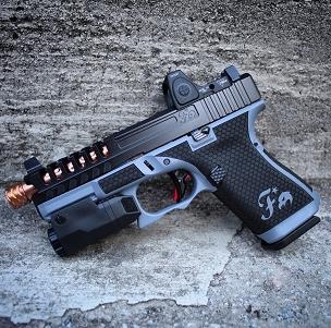 Blue Momba Gen 5 Glock 19