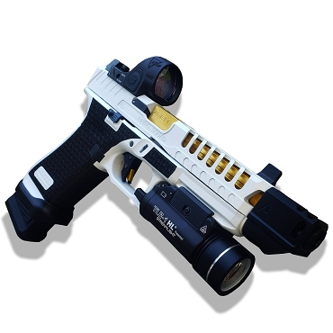 GHOST CUSTOMIZATION PACKAGE FOR YOUR GEN 5 GLOCK 17