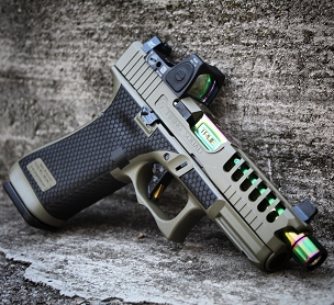 Green Machine customization package for your Glock 45