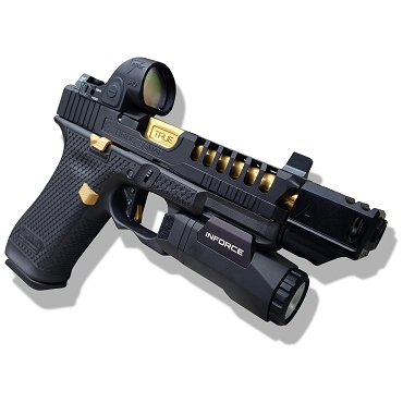 KING MIDAS CUSTOMIZATION PACKAGE FOR YOUR GEN 5 GLOCK 45