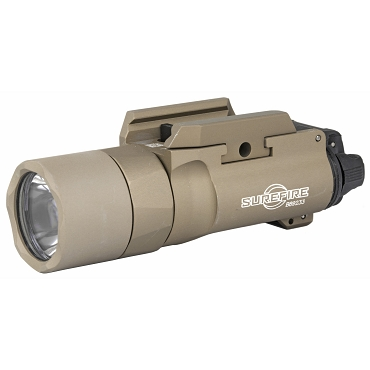 Surefire, X300 Wpnlgt, Weaponlight, Pistol and Picatinny, 1000 Lumens, Tan