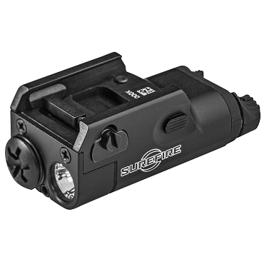 Surefire, XC1 Ultra-Compact Pistol Light, 300 Lumens, 1x AAA, Black Finish