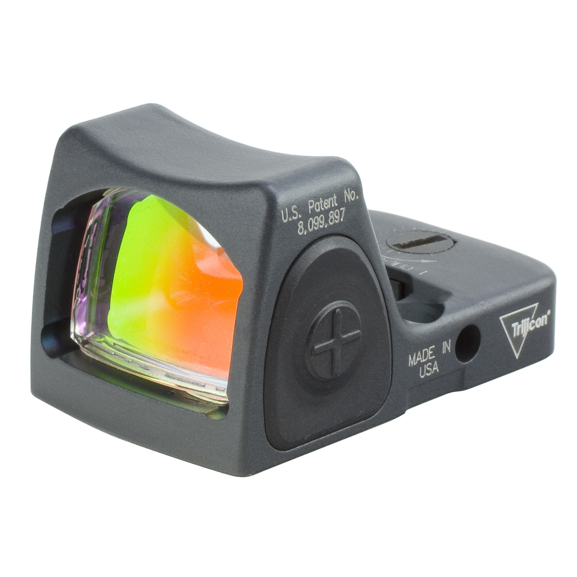 Trijicon, RMR, Type 2, Red Dot, Adjustable, Sniper Grey, 3.25 MOA