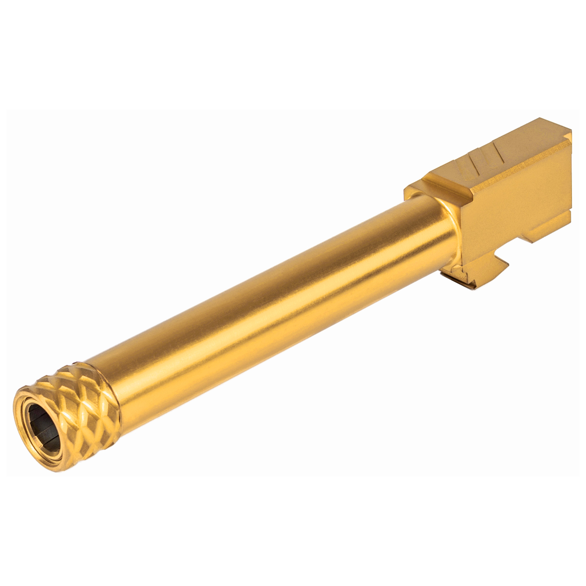 ZEV Technologies, Pro Barrel, Threaded, 9MM, For Glock 17 (Gen1-4), Gold Finish