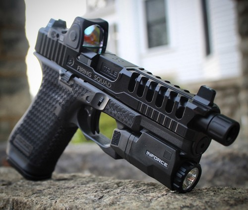 Murdered Out Glock 45