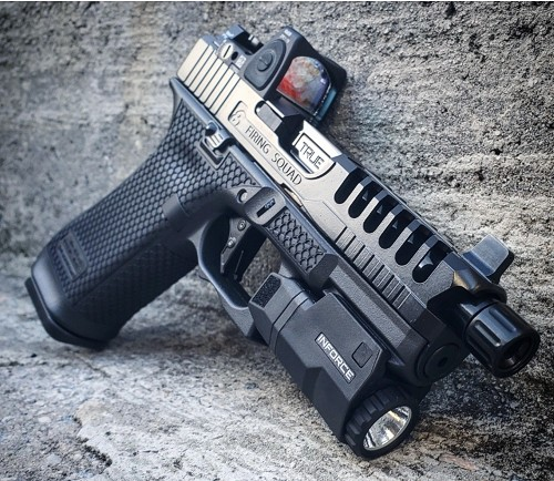 Murdered Out Customization Package for your Glock 45
