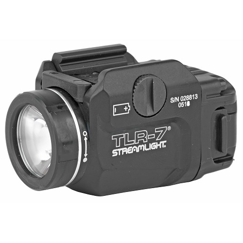 Streamlight, TLR-7, Tactical Weapon Light, 500 Lumens, Black
